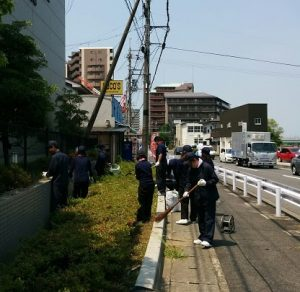 17 琵琶湖清掃