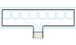 静電容量センサーキーシートのイメージ画像