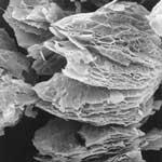 薄片化黒鉛のイメージ画像