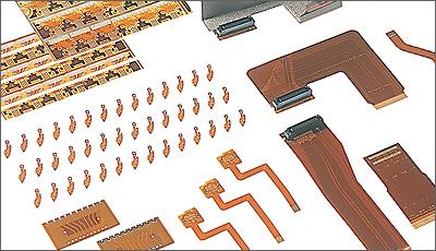 両面FPC(銅スルホールタイプ)のイメージ画像
