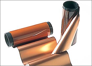 F-CCL(フレキシブルプリント基板用銅貼積層板)のイメージ画像