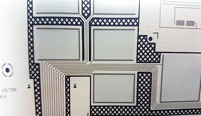静電容量タッチセンサーのイメージ画像